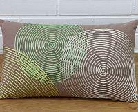 Povlak na polštář Kruhy 30x50 cm bavlna