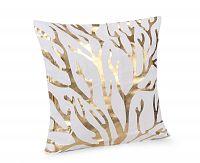 Povlak na polštářek Gold Větve 45x45 cm polyester