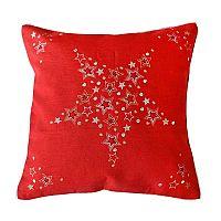 Povlak na polštářek Vánoce červený 40x40 cm červená