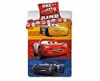 Povlečení Cars barevné 140x200 jednolůžko - standard bavlna