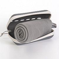 Rychleschnoucí ručníky Pocket Towel šedé 50x100 cm, 80 g Ručník
