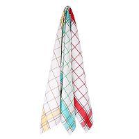 Set kuchyňských utěrek Karo barevný 50x70 cm barevná