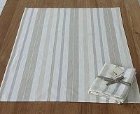 Utěrka Home Design béžové pruhy 50x70 cm béžová