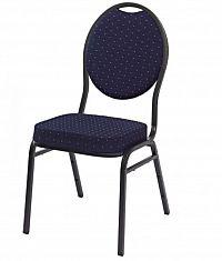 A.B.C. Worldwide 1147 Kvalitní kovová  židle MONZA modrá