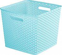 Úložný box MY STYLE SQR box - modrý CURVER