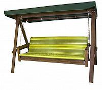 Zahradní houpačka ADELAIDA zelená FSC