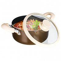 Banquet hrnec hliníkový se skl. poklicí 20x9cm CONTRA