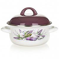 BANQUET Smaltovaný kastrol Lavender