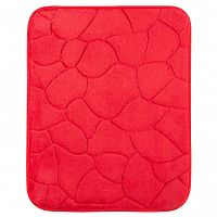 Grund Koupelnová předložka KAMENY červená 40 x 50 cm