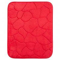 Grund Koupelnová předložka KAMENY červená 50 x 80 cm