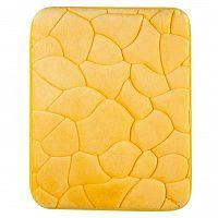 Grund Koupelnová předložka KAMENY žlutá 40 x 50 cm