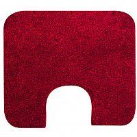 Grund Koupelnová předložka Tassos červená, GRUND předložka k umyvadlu 50 x 60 cm