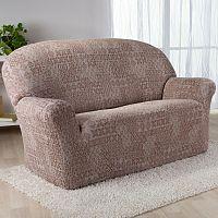 Nueva Textura Monoelastické potahy na sedací soupravuy ADANA béžové na sedačku - dvojkřeslo 140 - 180 cm