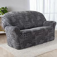 Nueva Textura Monoelastické potahy na sedací soupravuy ADANA šedé na sedačku - trojkřeslo 180 - 220 cm