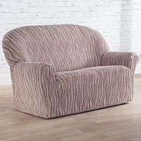 Nueva Textura Monoelastické potahy na sedací soupravuy CASIOPEA béžové na sedačku - dvojkřeslo 140 - 180 cm