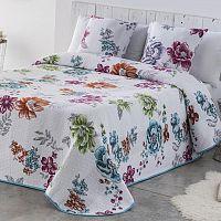 Přehoz na postel CRYSTAL modrý 90 - 100 x 200 cm