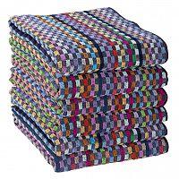 Sada pracovních ručníků KOSTKA 50 x 10 cm 6 ks