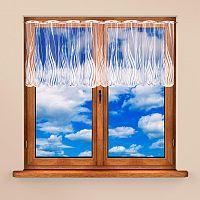 Vitrážková záclona KAROLÍNA 60 x 300 cm