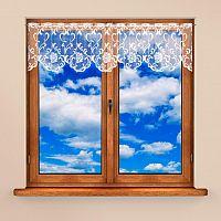 Vitrážková záclona NINA 40 x 300 + 60 x 300 cm