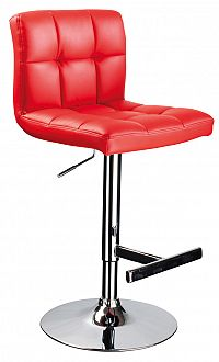 Barová židle C-105 Krokus červená