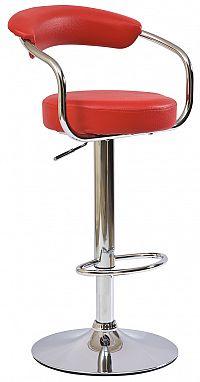 Barová židle C-231 Krokus červená
