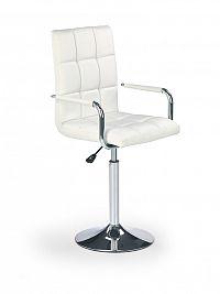 Barová židle Gonzo bílá