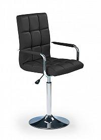 Barová židle Gonzo černá