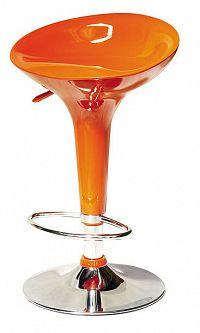 Barová židle Inge New HS9001 oranžová