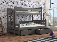 Dětská patrová postel 90 cm