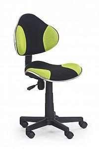 Dětská židle Flash černá + zelená