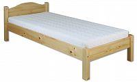 Jednolůžková postel 100 cm LK 124 (masiv)