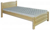 Jednolůžková postel 100 cm LK 125 (masiv)