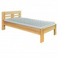 Jednolůžková postel 100 cm LK 160 (buk) (masiv)