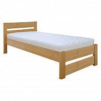 Jednolůžková postel 100 cm LK 180 (buk) (masiv)