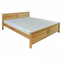 Jednolůžková postel 120 cm LK 109 (buk) (masiv)