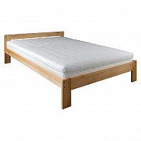 Jednolůžková postel 120 cm LK 194 (buk) (masiv)