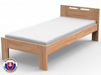 Jednolůžková postel 220x100 cm Nela (masiv)