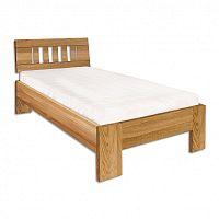 Jednolůžková postel 80 cm LK 283 (dub) (masiv)