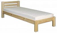 Jednolůžková postel 90 cm LK 127 (masiv)