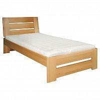 Jednolůžková postel 90 cm LK 182 (buk) (masiv)