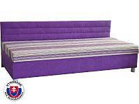 Jednolůžková postel (válenda) 100 cm Etile 1 (s molitanovou matrací)