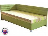 Jednolůžková postel (válenda) 100 cm Etile 2 (s molitanovou matrací) (L)
