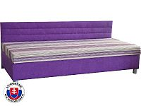 Jednolůžková postel (válenda) 110 cm Etile 1 (se sendvičovou matrací)