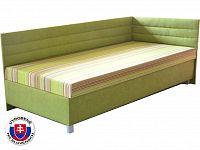 Jednolůžková postel (válenda) 110 cm Etile 2 (s molitanovou matrací) (P)