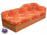 Jednolůžková postel (válenda) 80 cm Edo 4/2 (se sendvičovou matrací) (P)
