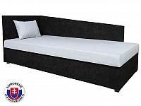 Jednolůžková postel (válenda) 80 cm Edo 4 Lux (s molitanovou matrací) (L)
