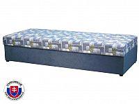 Jednolůžková postel (válenda) 80 cm Kasvo (s pružinovou matrací)