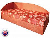 Jednolůžková postel (válenda) 80 cm Marta (s pružinovou matrací) (L)