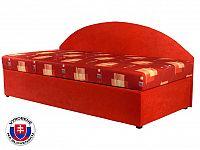 Jednolůžková postel (válenda) 90 cm Kavy (s molitanovou matrací) (L)