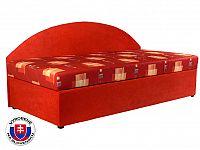 Jednolůžková postel (válenda) 90 cm Kavy (se sendvičovou matrací) (P)